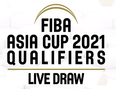 FIBA Asia Cup 2021 Qualifiers Draw